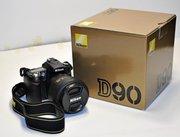 Buy: Nikon D90 And Nikon D700 Digital SLR And Canon EOS 5D Mark II 21M