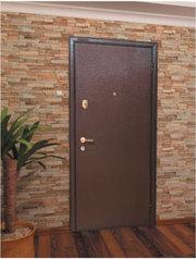 солидная и надежная входная дверь
