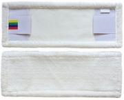 Насадка - Насадка - Моп плоский из белой микрофибры