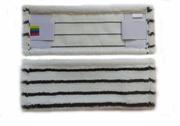 Насадка - Моп плоский с жестким абразивом,  100% микрофибра