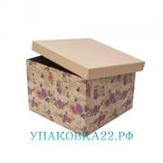 Подарочная коробка Крафт розы-7