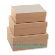 Набор крафт коробок (3 шт.)